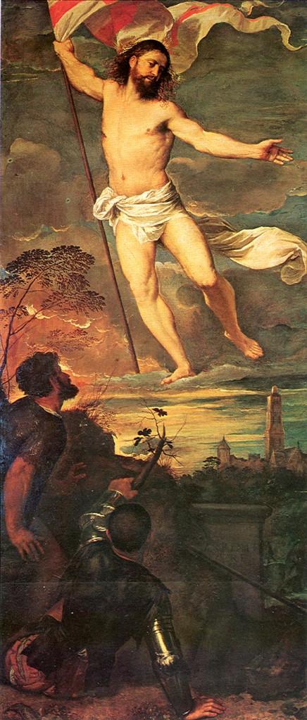 Titian - Averdoldi Polyptych. Brescia. Santi Nazzaro e Celso